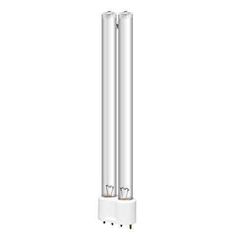 YAOBLUESEA UVC Ersatzröhre Ersatzlampe, UVC Germizide Lampe, UV Leuchtmittel Ersatz Lampe, UVC Röhre für Ersatzlampe UVC Teichfilter und UVC Teichklärer, Wird zur Aquariumsterilisation Verwendet 55W