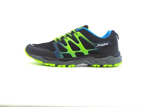 Jhayber Rail, Zapatillas de Running Hombre, Black, 46 EU