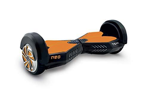 Itekk Hoverboard 8'' Neo con Bluetooth, Assicurazione AXA Tutela Famiglia Inclusa, Arancione, Unisex – Adulto, M