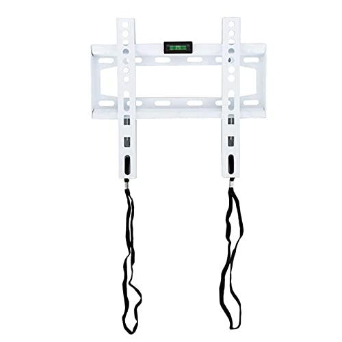 IJNBHU Soporte de Pared de TV Ajustable Ultraligero para Soporte de TV LED LCD de 13-42 Pulgadas 20 kg VESA 200 * 200 Soporte de Pared de TV (Color: Blanco)