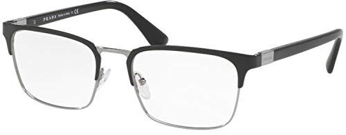 Prada Gafas de Vista PR 54TV Black 57/19/150 hombre