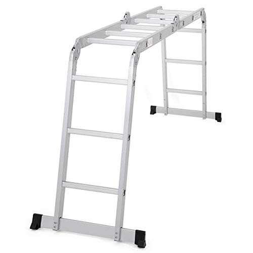 Giantex Multi-Purpose Folding Step Ladder