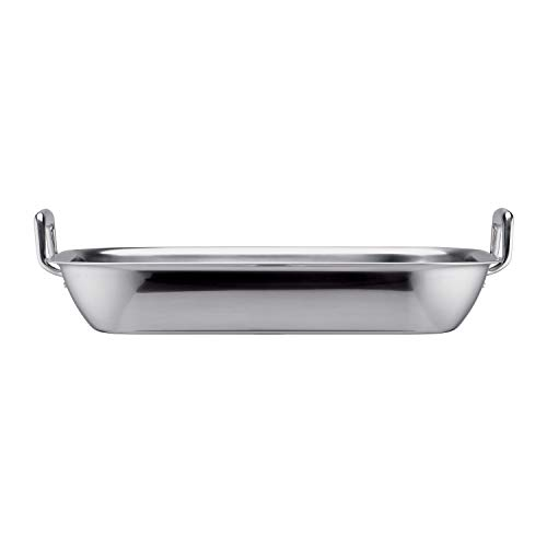 Tramontina 80203/010DS 18.75 inch Roasting Pan, 18.75-Inch, Stainless Steel