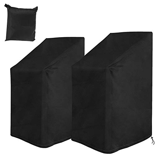 Shumu Waterproof Dustproof Stacked Chair Dust Cover Outdoor and Garden Furniture Protection