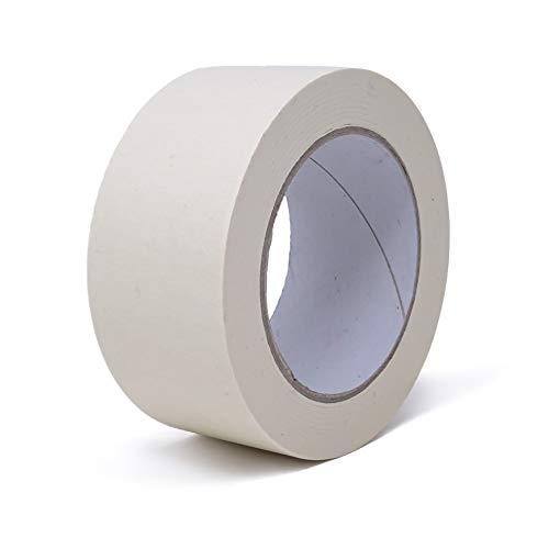 gws Maler-Kreppband   Abdeck-Klebeband in Profi-Qualität   Krepp-Klebeband in versch. Breiten   für feine & saubere Farbkanten   Länge: 50 m (1 Rolle - 50 mm breit)