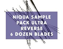 Niqua Ultra Reverse Scroll Saw Selling and selling Product Blades Pack Sample 6 Blad - Dozen