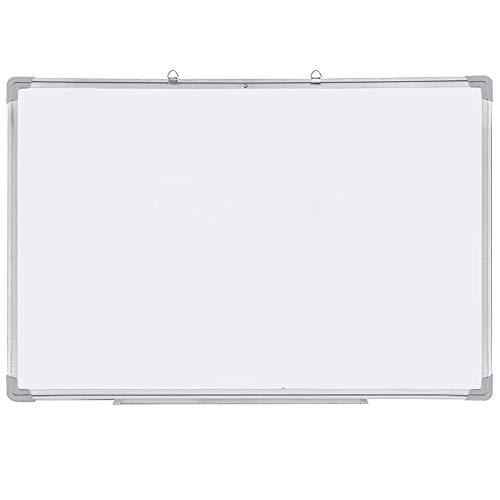 Dripex Whiteboard Magnettafel inklusive Whiteboard Marker, Magnete und Schwamm Magnetisches Whiteboard mit Alurahmen