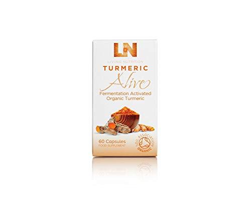 Living Nutrition Organic Turmeric Alive 60 Capsules, 0.041 kg