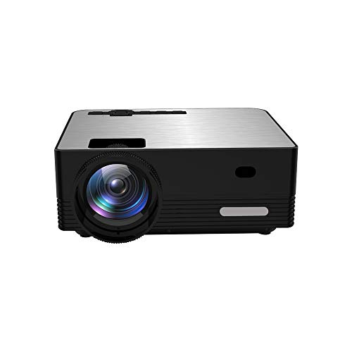 HD Projector, Tontion 4200 Lux Video Projector Native 1080P Mini Projector,and 179'' Display,50,000 Hour LED, Portable Projector Compatible with TV Stick, PS4,HDMI, VGA, USB, AV, TF, DVD Player