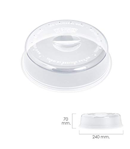 ORYX Ø couvercle micro-onde Ø 24x 7cm, Transparent