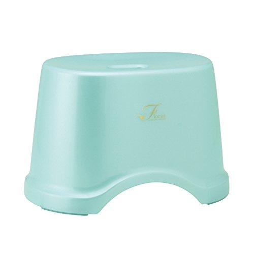 レック Florist 風呂いす 高さ22cm ブルー (風呂椅子 バスチェア) B-961