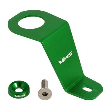 Empire Paintball 92-95 Green Radiator Stay Bracket Clamp Bolt Kit for Honda Civic 1992 1993 1994 1994 92 93 94 95 in Real Billet Aluminum JDM