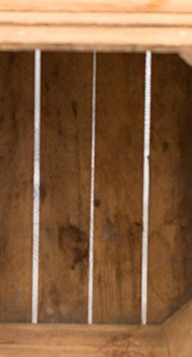 Gebrauchte Holzkisten im Set Angebot: Originale Vintage Obstkisten zum Möbelbau od. als Dekoration, sehr stabile Apfelkisten, geprüft und gereinigt 50x40x30 cm (6er Set) - 9