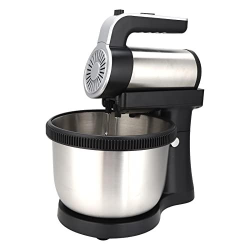 Spina UE 220V, Robot da cucina a 5 velocità Frusta per uova di grande potenza 2 in 1 per ristorante per cucina