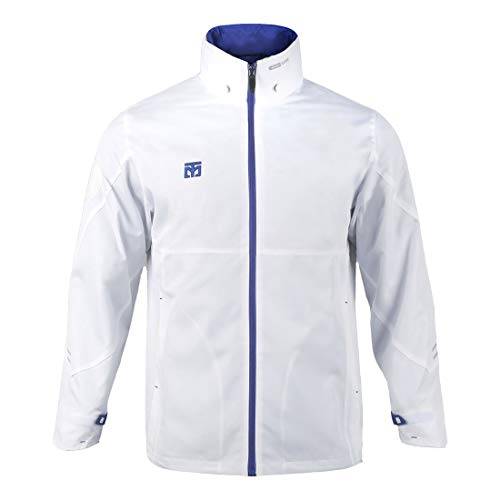 Mooto Korea Taekwondo Kleidung Top Wing S2 Jacke Schwarz Weiß 2 Farben MMA Martial Arts Team Uniform (2. Weiß, 200(190cm-200cm or 6.23ft-6.56ft))