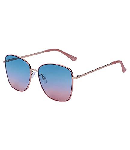 SIX Sonnenbrille für Damen im Piloten-Design, Linsen-Kategorie 2, UV400-Filter (326-211)