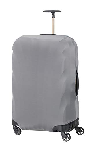 Samsonite Global Travel Accessories - Funda para Maleta en Lycra, L, Gris (Anthracite)