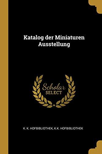 Katalog Der Miniaturen Ausstellung
