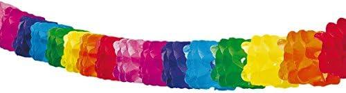 Folat – pappersgirlang honululu – 6 meter – flerfärgad