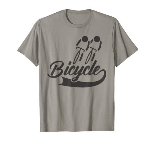 Bicycle Cycling Cyclist Biking Bicicletta Bicicletta Maglietta