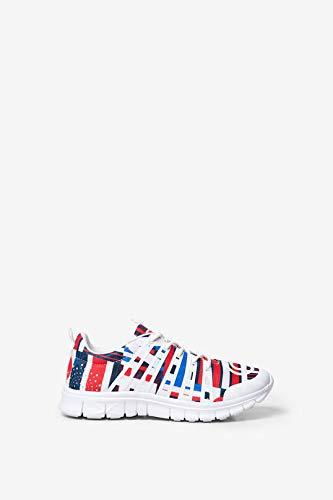 Desigual Sneaker mit Hawaianischer Fahne 39