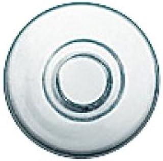 2 paar (4 stuks) neuspads om rond te knijpen siliconen 9 mm (Mushroom - Paddestoelvorm)