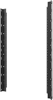 C2G Vertical Rail Kit for 12RU Swing-Out Wall-Mount Cabinet, Black (SWMRK12RU)