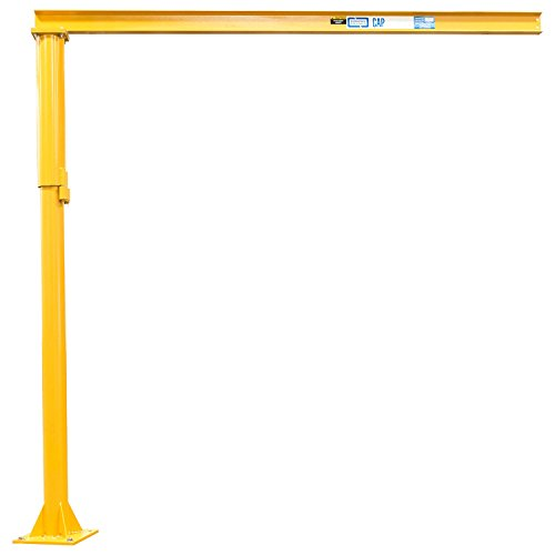 Why Choose Contrx Medium Duty Floor Mounted Jib Crane, 12' Under Beam Height, 500 Lb. Capacity, 10' ...