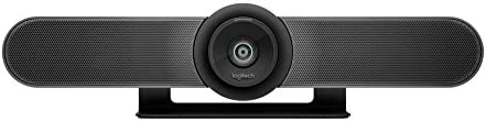 Logitech MeetUp Videocamera 4K per Videoconferenza, Ultra HD