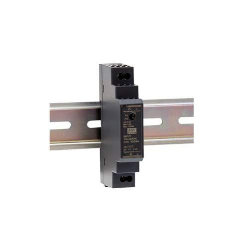 Hutschienen Netzteil 15W 24V 0,63A ; MeanWell HDR-15-24 ; DIN-Rail Trafo