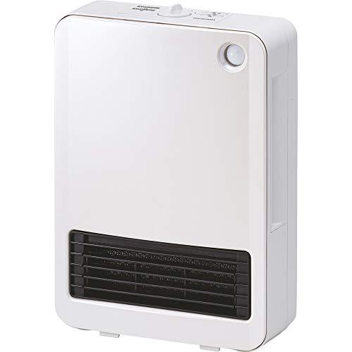 アイリスオーヤマセラミックファンヒーター人感センサー付(1200W/600W2段階切替)ホワイトPCH-125D-W