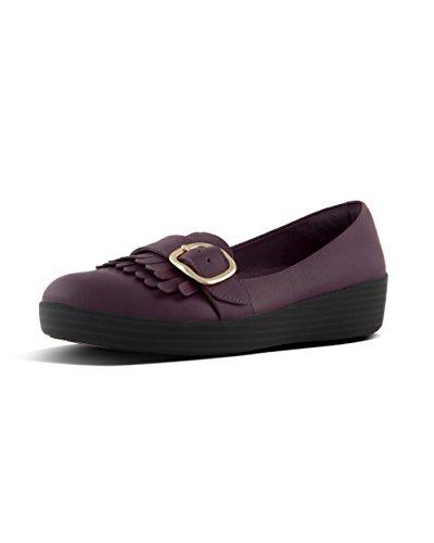 Fitflop Donna Fibbia Sneakerloafers - Deep Plum, Porpora, 41