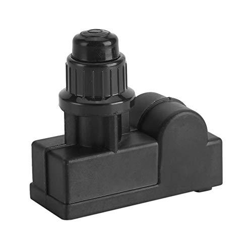 Generador de chispas, DC1,5 V, funciona con pilas, generador de chispa de gas, 2 salidas de encendido, universal, negro, 3,0 x 1,2 x 2,8 pulgadas