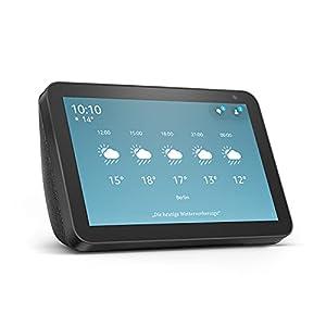 Alexa zeigt Ihnen mehr – Mit dem 8 Zoll großen HD-Display und Stereosound kann Alexa Ihnen helfen, Ihren Alltag zu organisieren. Bleiben Sie in Verbindung mit Videoanrufen und Nachrichten – Rufen Sie Freunde und Familienmitglieder an, die die Alexa A...