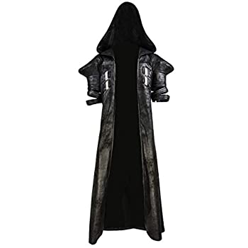 Halloween Reaper Robe OW Deluxe Cosplay Costume Reaper Jacket Size X-Large
