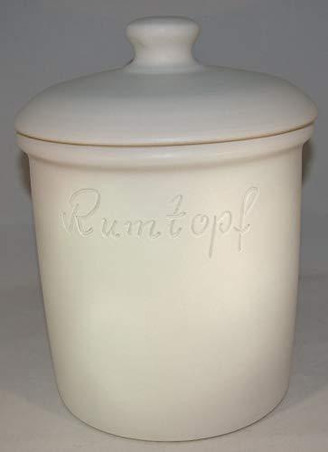 Töpferei Seifert -   Rumtopf 5 Liter