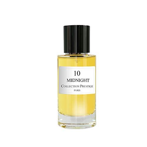 N°10 Midnight | Ambre - Collection Prestige edition Rose Paris - Eau de Parfum Haut de Gamme - Made in France + Pochon Rose Paris