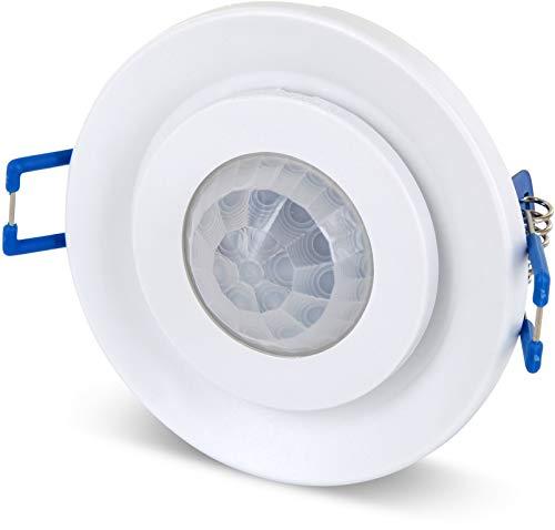 Einbau IR Bewegungsmelder 360° schwenkbar - Deckeneinbau - LED geeignet - 1W bis 800W 230V