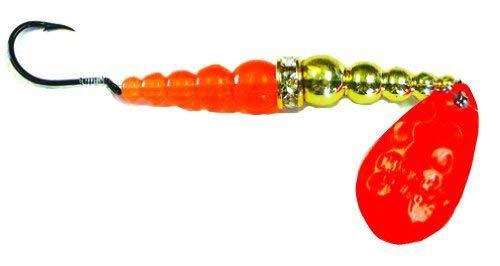 Mack's Lure 09196 Wedding Ring Orange Gold Orange, 8
