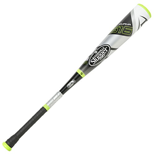 "Louisville Slugger Youth 2 3/4"" Diameter Omaha 516 Coach Pitch Baseball Bat (-10), 27""/17 oz"