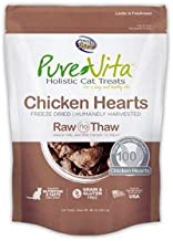 Purevita Chicken Hearts Fd Cat Treats .8Oz