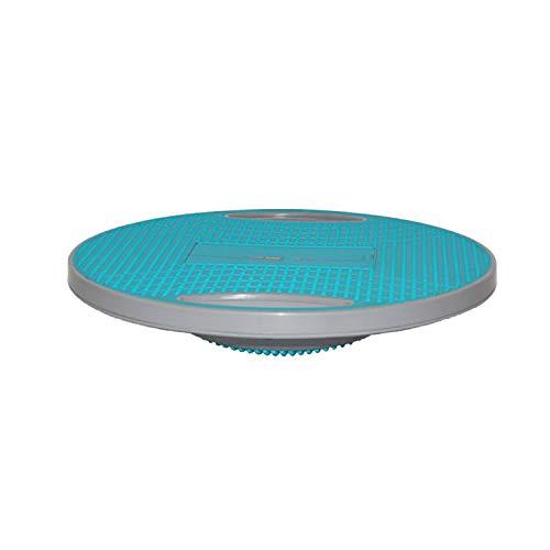 Plataforma de Equilibrio con Asas Balance Board Tabla de Balanceo para Equilibrio y Estabilidad, Entrenador de Espalda y Tobillo,Disco para Entrenamiento de Fitness de Ø 41.5CM