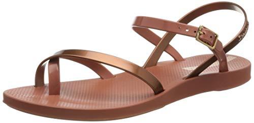 Ipanema Damen Fashion Sand VIII FEM Durchgängies Plateau Sandalen, Pink/Copper, 39 EU