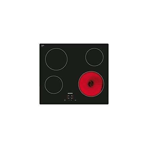 Plaque vitroceramique 4 feux Siemens ET611HE17F - Plaque de cuisson 4 foyers - 4 zones highspeed - 17 positions de reglages - Témoin de chaleur résiduelle a 2 niveaux