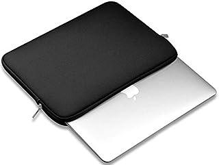Portable Zipper Soft Sleeve Case Bag Notebook Cover for MacBook Air 13 inch Laptop bag-black