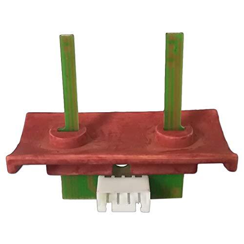 Debimetro sensore flusso aria per stufa a pellet edilkamin dalzotto la nordica extraflame - Supporto rosso