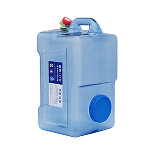 YXYXX Portátil Bidón Tanque De Agua,Funda de 10 cm de Diámetro, Utilizada para Acampar, Hacer Senderismo, Hacer Picnic, Viajar y Hacer Barbacoas/azul / 12l