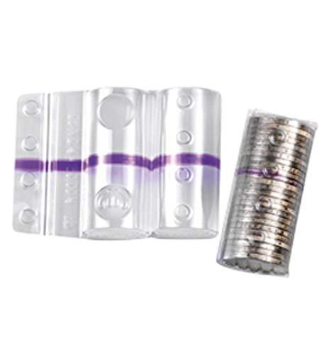 Blister in plastica per monete da 2 euro (100 pezzi) contenitori monete