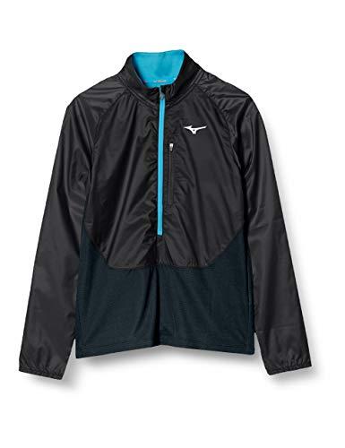 [Mizuno] ランニングウェア ブレスサーモ ウィンドブレーカーシャツ J2ME8701 レディース ブラック 日本 M ...