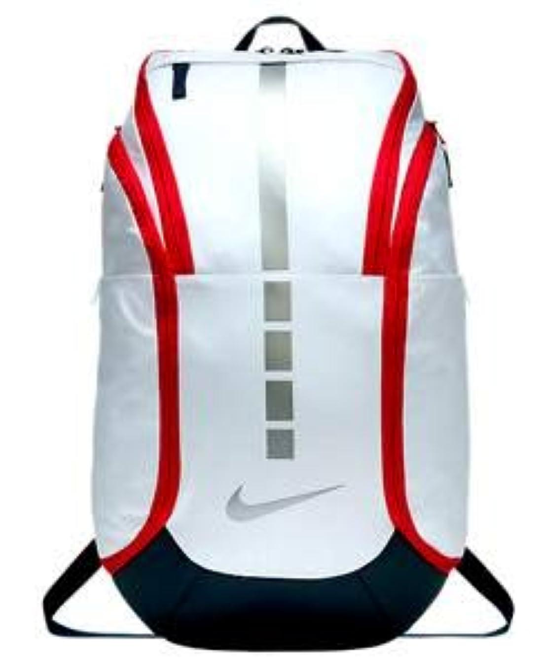 スリチンモイカーテン出撃者ナイキ リュック バックパック Nike Hoops Elite Pro Backpack バスケットボール バスケ White/Obsidian_OS [並行輸入品]